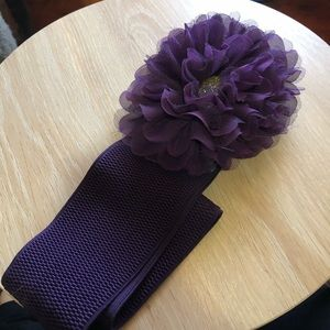 Accessories - Plum Belt 3X